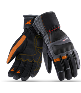 GUANTES SD-T5 INVIERNO TOURING HOMBRE NEGRO/GRIS OSCURO NARANJA