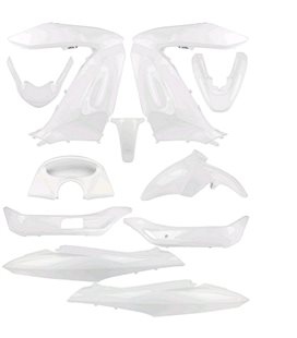 KIT CARENADO ADAPT. HONDA PCX 125 2011-13 BLANCO (11 PIEZAS)