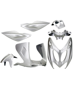 KIT CARENADOS YAMAHA AEROX GRIS METALIZADO