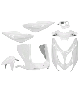 KIT CARENADOS YAMAHA AEROX 97-12 BLANCO