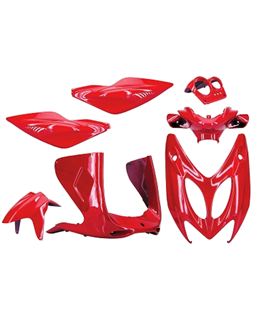 KIT CARENADOS YAMAHA AEROX 97-12 ROJO