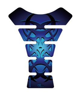PROTECTOR DEPOSITO STREET STYLE 1PC CELTIC TRIBAL TATTOO AZUL