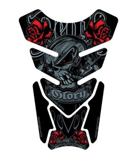 PROTECTOR DEPOSITO STREET STYLE 4PCS DEATH OR GLORY NEGRO