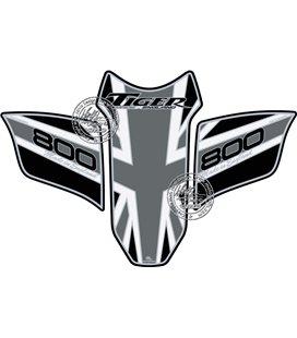 PROTECTOR DEPOSITO 3PCS NEGRO/GRIS TRIUMPH TIGER800