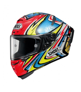 CASCO SHOEI X-SPIRIT 3 MARQUEZ BLACK CONCEPT