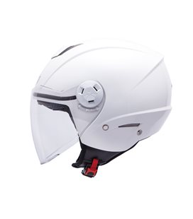 CASCO MT CITY ELEVEN SV SOLID BLANCO PERLADO BRILLO