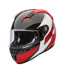 SCHUBERTH SR2 WILDCARD ROJO BRILLO