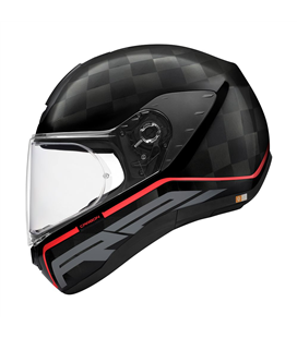 SCHUBERTH R2 CARBON STROKE ROJO BRILLO