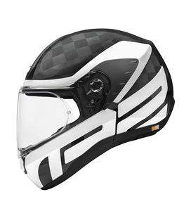 SCHUBERTH R2 CARBON CUBATURE BLANCO BRILLO