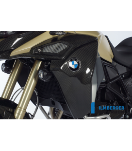 TAPA RADIADOR / AIRBOX COVER  LEFT CARBON - BMW F 800 GS ADVENTURE (2013-NOW)