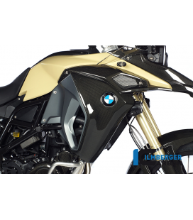 TAPA RADIADOR / AIRBOX COVER RIGHT CARBON - BMW F 800 GS ADVENTURE (2013-NOW)