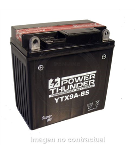 BATERIA POWER THUNDER YTX9A-BS