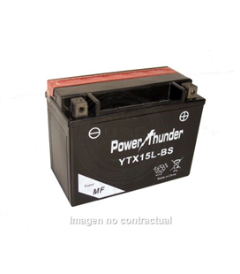 BATERIA POWER THUNDER YTX15L-BS