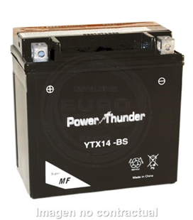BATERIA POWER THUNDER YTX14-BS