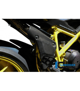 EXHAUST PROTECTOR CARBON - DUCATI 848 /1098 / 1198 / S /  R