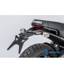 UPPER NUMBERPLATE HOLDER MATT DUCATI SCRAMBLER'16