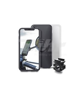 PACK COMPLETO MOTO AL RETROVISOR SP CONNECT PARA IPHONE X
