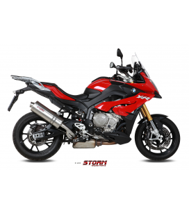 BMW S 1000 XR 2015 - ESCAPE STORM OVAL INOX