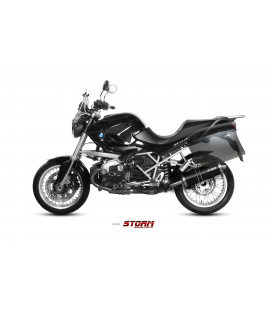 BMW R 1200 GS 2013 - ESCAPE STORM OVAL INOX NEGRO