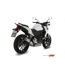 HONDA CB 500 F / X 2013 - 2015 ESCAPE STORM GP INOX