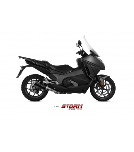 HONDA INTEGRA 750 2016 - ESCAPE STORM GP INOX NEGRO