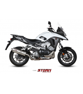 HONDA CROSSRUNNER 2015 - ESCAPE STORM OVAL INOX