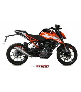 KTM 125 DUKE 2017 - ESCAPE STORM GP INOX