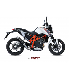 KTM 690 DUKE 2012 - ESCAPE STORM GP INOX NEGRO