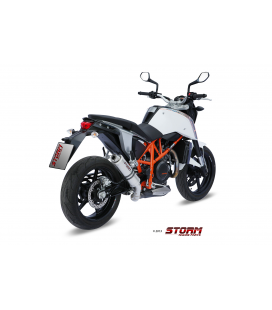 KTM 690 DUKE 2012 - ESCAPE STORM GP INOX