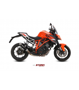 KTM 1290 SUPERDUKE 2014 - ESCAPE STORM GP INOX NEGRO