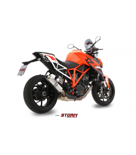 KTM 1290 SUPERDUKE 2014 - ESCAPE STORM GP INOX