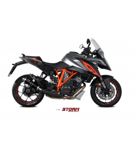 KTM 1290 SUPERDUKE GT 2016 - ESCAPE STORM GP INOX NEGRO