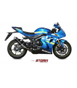 SUZUKI GSX-R 1000 2017 - ESCAPE STORM GP INOX NEGRO