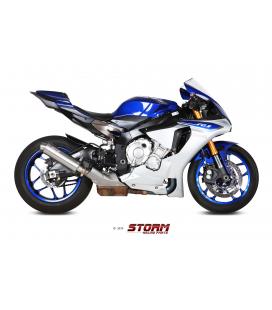 YAMAHA YZF 1000 R1 2015 - ESCAPE STORM GP INOX