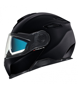 CASCO NEXX X.VILITUR NEGRO BRILLO