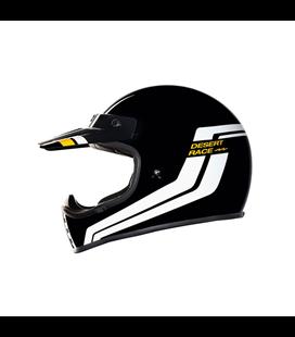 CASCO NEXX XG.200 DESERT RACE NEGRO