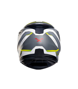 CASCO NEXX SX.100 I.FLUX BLANCO NEON MATE