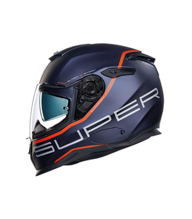 CASCO NEXX SX.100 SUPERSPEED AZUL ROJO MATE