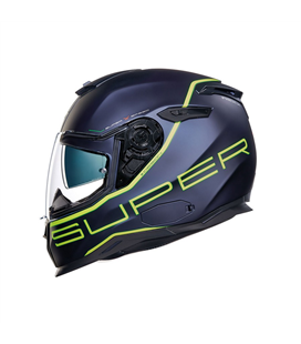 CASCO NEXX SX.100 SUPERSPEED AZUL NEON MATE