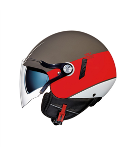 CASCO NEXX SX.60 VF SMART2 MARRON ROJO