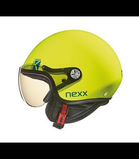 CASCO NEXX SX.60 KIDS K AMARILLO FLUOR