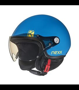 CASCO NEXX SX.60 KIDS K AZUL EXPLOSION