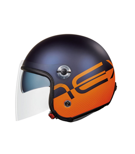 CASCO NEXX X70 CITY X  AZUL NARANJA MATE