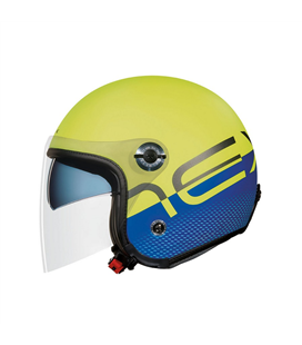 CASCO NEXX X70 CITY X FLUOR AZUL MATE