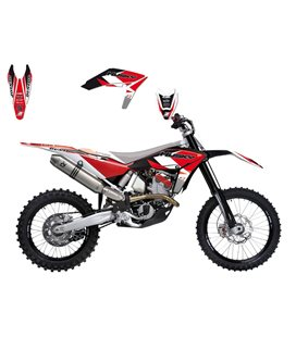 KIT ADHESIVOS BLACKBIRD DREAM HUSQVARNA 2610E