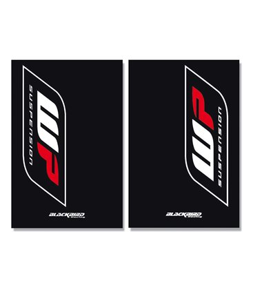 Adhesivo Horquilla Crystal Trasparente Showa 2 Pcs Blackbird Racing 5045S