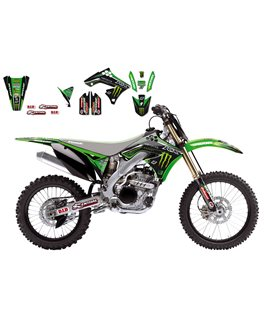 KIT ADHESIVOS BLACKBIRD RÉPILCA MONSTER KAWASAKI 2418R6