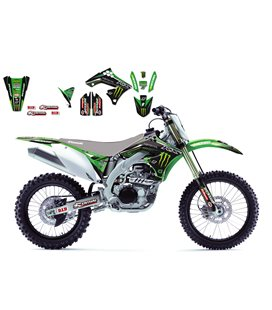 KIT ADHESIVOS BLACKBIRD RÉPLICA MONSTER KAWASAKI 2419R6