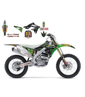 KIT ADHESIVOS BLACKBIRD RÉPLICA MONSTER KAWASAKI2421R7
