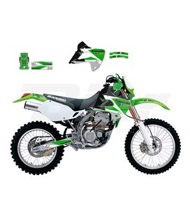 KIT DE ADHESIVOS BLACKBIRD DREAM 3 KAWASAKI 2412E